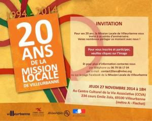 20 ans mission locale