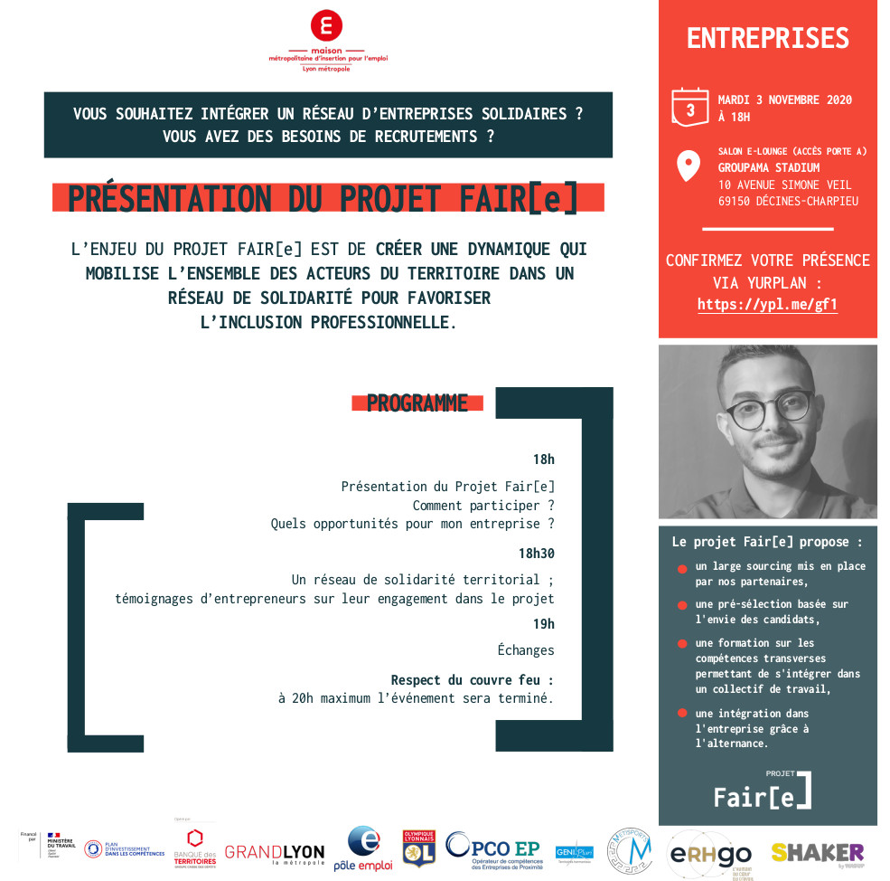 Invitation pour Fair[e]
